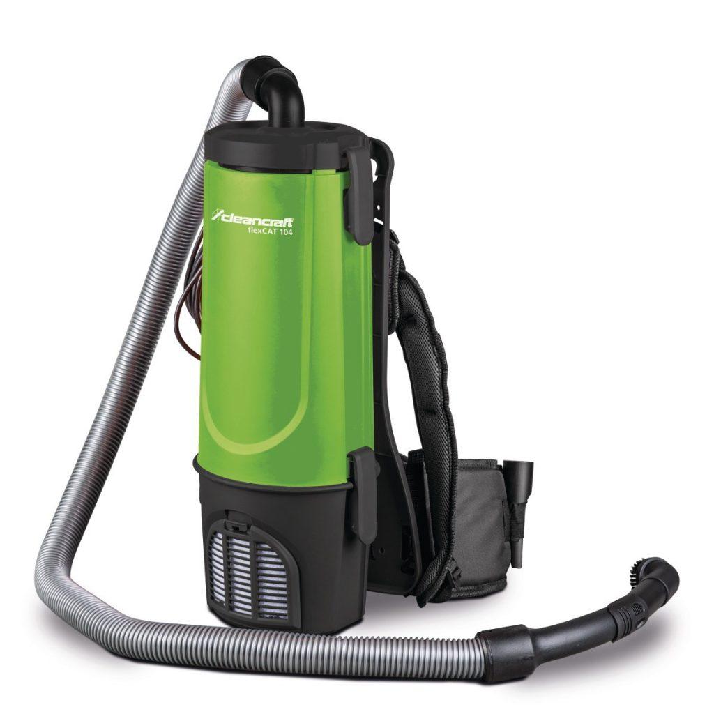 flexCAT 104 – Wygodny i praktyczny odkurzacz plecakowy