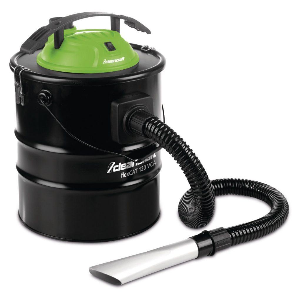 flexCAT 120 VCA – Specjalny odkurzacz z podwójnym systemem filtracyjnym ułatwiający usuwanie popiołu z kominka, pieca i grilla.