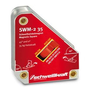 SWM-2 35 – magnetyczny kątownik spawalniczy