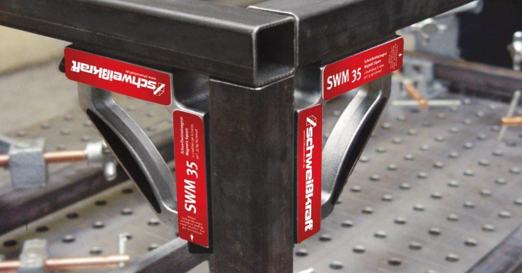 SWM 70 – magnetyczny kątownik spawalniczy