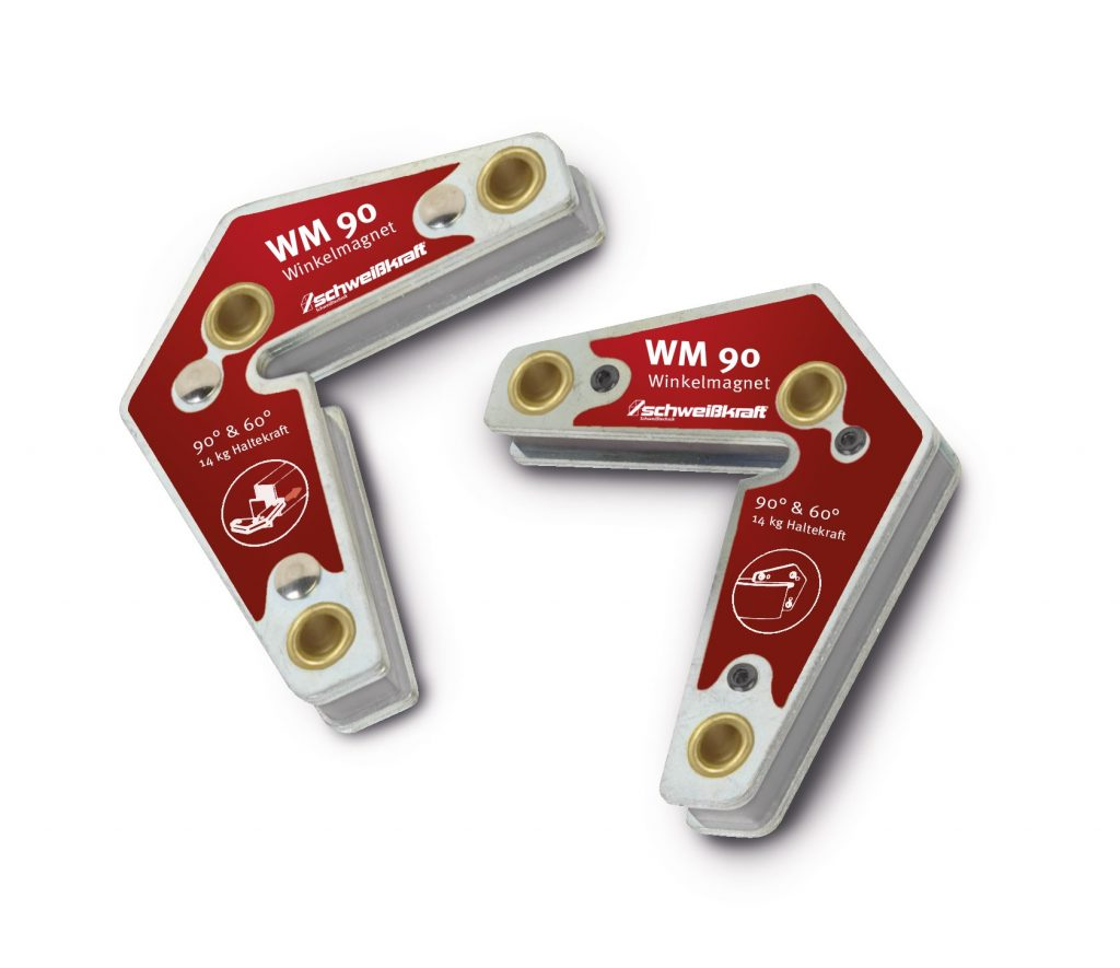 WM 90 – magnetyczny kątownik spawalniczy