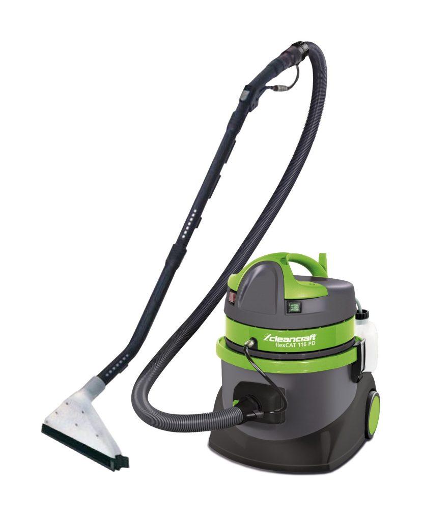 flexCAT 116 PD – Odkurzacz specjalny do czyszczenia dywanów, tapicerki i samochodu.
