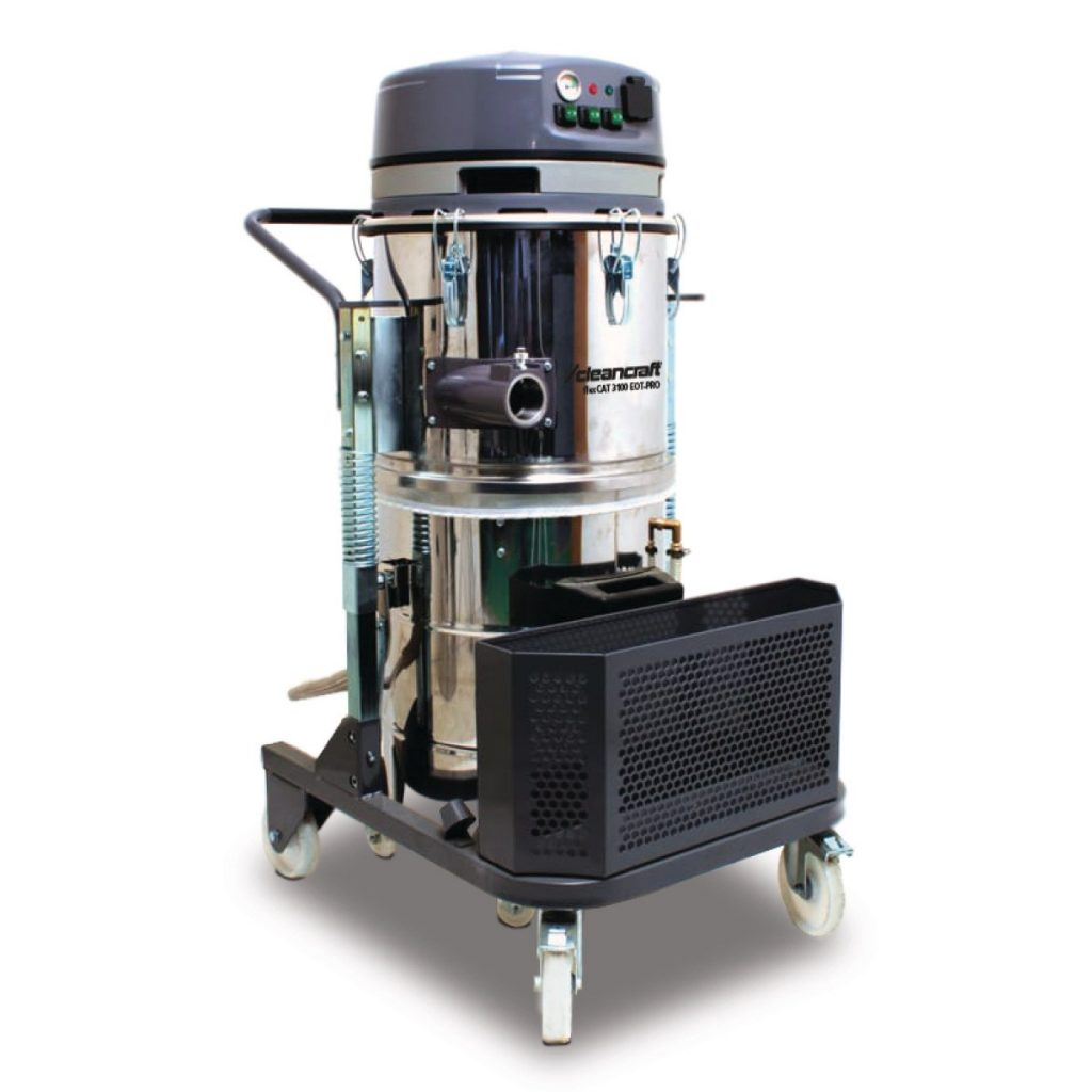 flexCAT 3100 EOT-PRO – Specjalny odkurzacz do płynów zawierających oleje i wióry metalowe.