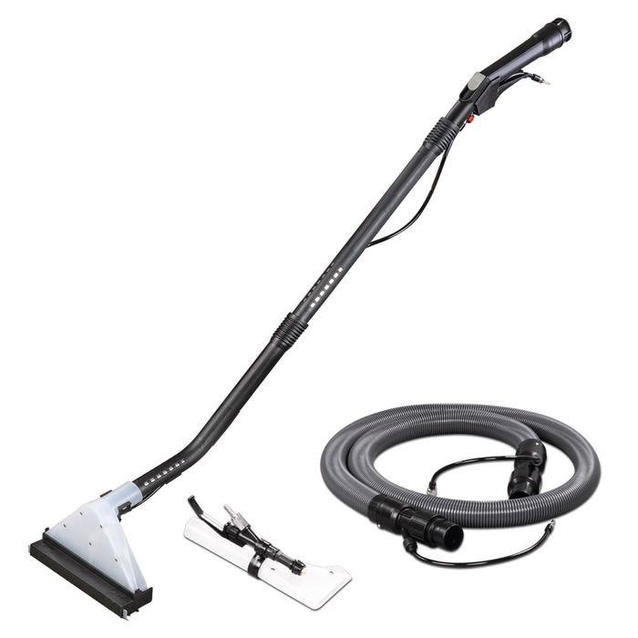 flexCAT 133 IPD – Kompaktowy odkurzacz specjalny ze zbiornikiem na środek czyszczący, końcówką do czyszczenia tapicerki, dywanów i podłóg.