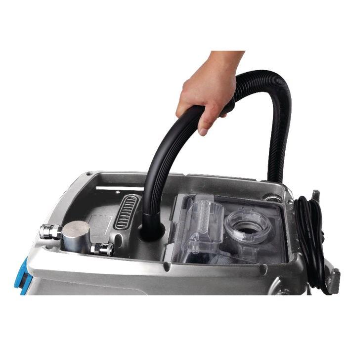 flexCAT 130 ERA – wydajny, kompaktowy odkurzacz specjalny z filtrem wody do odkurzania na sucho i mokro. Z przyłączem do narzędzi pneumatycznych