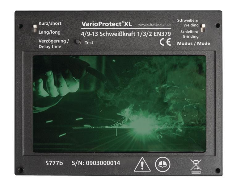 VarioProtect XL Przyłbica spawalnicza